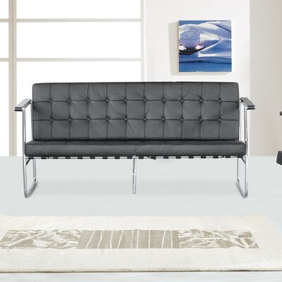 Fine Mod Imports Celona Leather Sofa