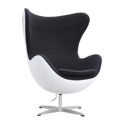 Fine Mod Imports Fiesta Fiberglass Arm Chair