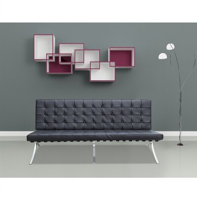 Fine Mod Imports Pavilion Leather Sofa