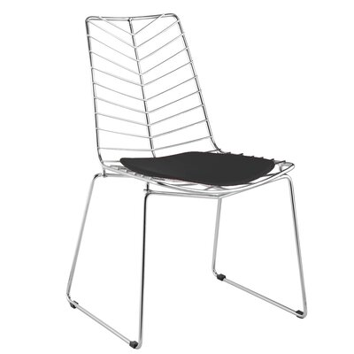 Fine Mod Imports Wire Leaf Side Chair