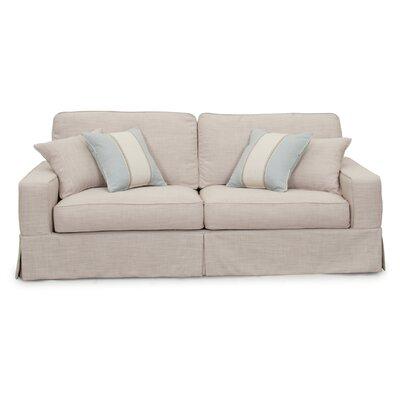 Sunset Trading Americana Slipcovered Sofa