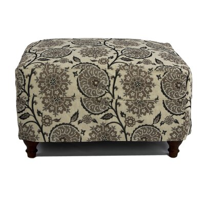Sunset Trading Seacoast Slipcovered Ottoman