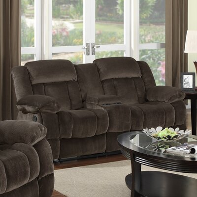 Sunset Trading Teddy Bear Reclining Loveseat