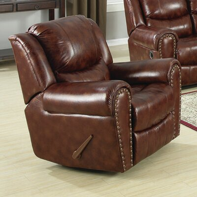Sunset Trading Oxford Glider Recliner