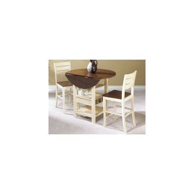 August Grove Rutland 3 Piece Pub Table Set