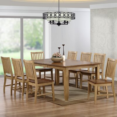 Loon Peak Huerfano Valley 9 Piece Dining Set