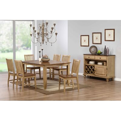 Loon Peak Huerfano Valley 8 Piece Dining Set