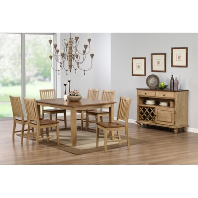 Loon Peak Huerfano Valley 7 Piece Dining Set