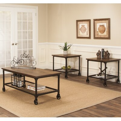 Trent Austin Design Bretonneux 3 Piece Coffee Table Set