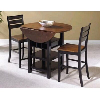 World Menagerie Elowen 3 Piece Pub Table Set