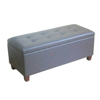 HomePop Upholstered Storage Bench