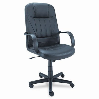 Alera® Sparis Executive High-Back Leather Executive Chair