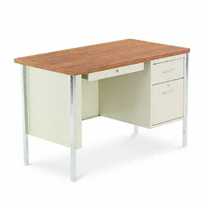 Alera® Computer Desk with Single Pede..