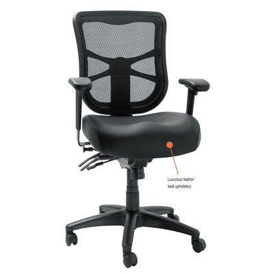 Alera® Elusion Series Mid-Back Mesh Multifunction Chair