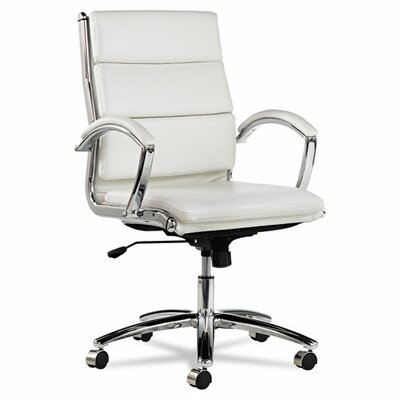 Latitude Run Virginia Mid-Back Slim Profile Office Chair with Arms