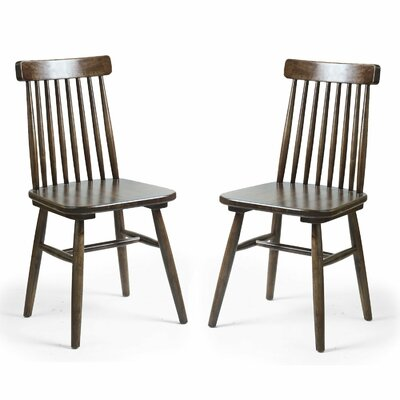 Adeco Trading Dining Side Chair (Set of 2)