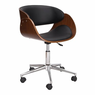 Adeco Trading Mid-Back Desk Chair