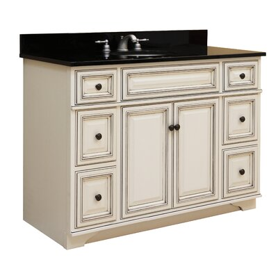 sunny wood sanibel 48 quot bathroom vanity base wayfair sunny wood introduces the branden kitchen collection