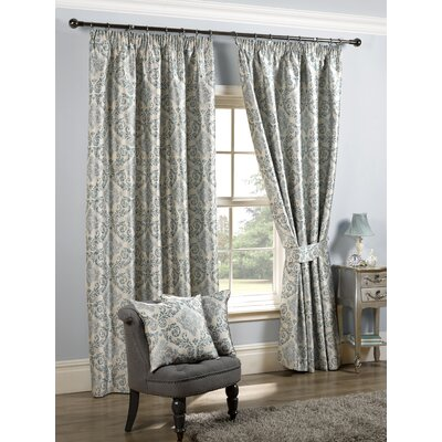K living florence curtain panel reviews wayfair uk for Living room curtains 90x90