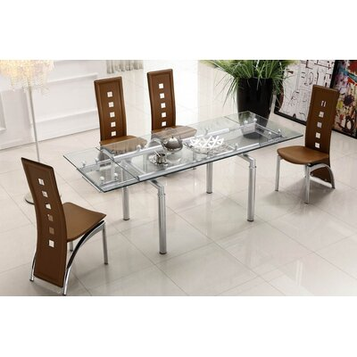 At Home USA Lazzaro Extendable Dining Table