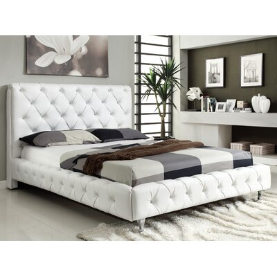 At Home USA Maria Upholstered Platform Bed