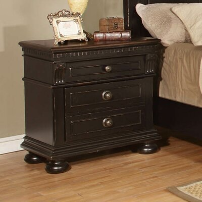 Avalon Furniture Rivington Hall 3 Drawer Nights..