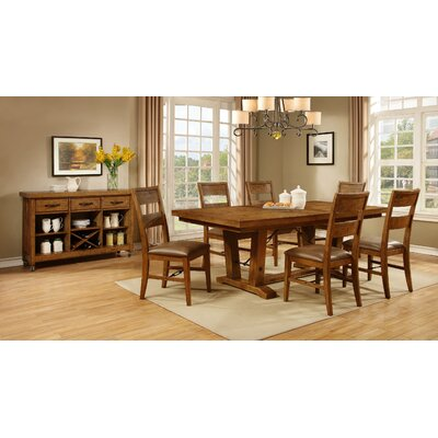 Avalon Furniture Milling Road 7 Piece Dining Set