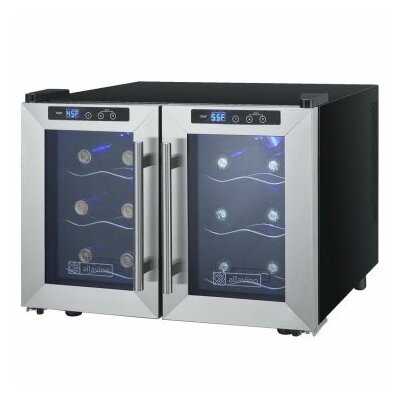 Allavino Cascina 12 Bottle Dual Zone Wine Refrigerator