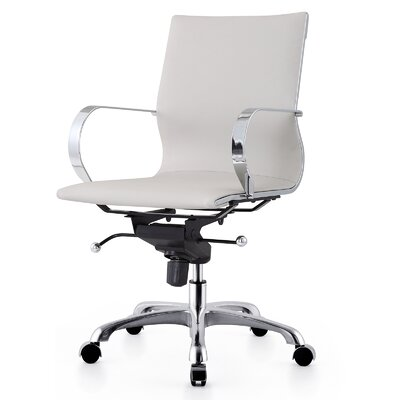 Meelano Mid-Back Office Chair with Arms