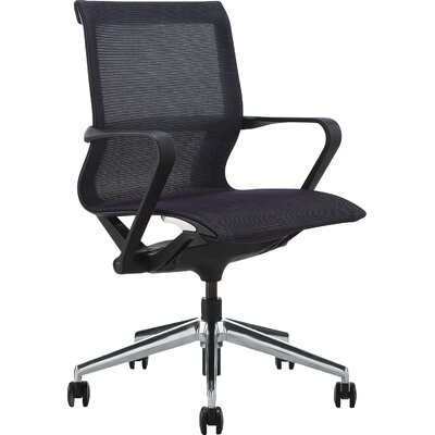 Meelano Mid-Back Mesh Executive Managerial Office Chair