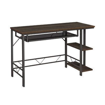 Twin Star Willsboro Desk with Pull-Out Keyboard Shelf