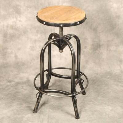 Design Tree Home Adjustable Height Swivel Bar Stool