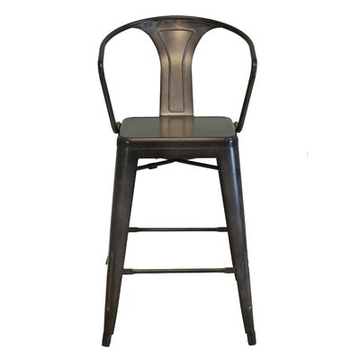 "Design Tree Home Bastille 26"" Bar Stool"