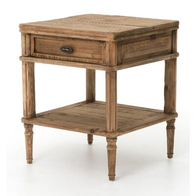 Design Tree Home Farmhouse End Table