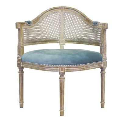 Design Tree Home Caned Back Occasional Lounge Chair