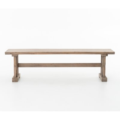Design Tree Home Tuscan Wood Entryway Bench