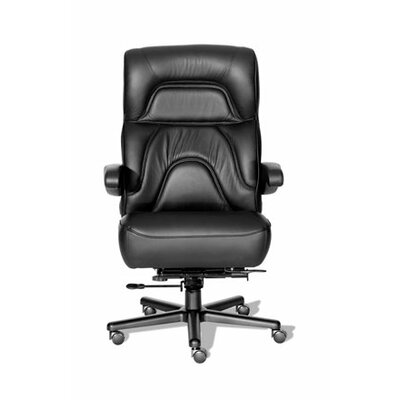 ERA Products Office Chairs Comfort Plus  Series Chairman Leather/Leathermate Vinyl High Back Executive Chair