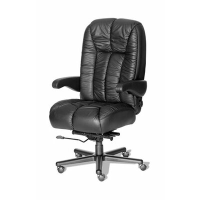 ERA Products Office Chairs Comfort Series Newport Leathermate Vinyl High-Back Executive Chair