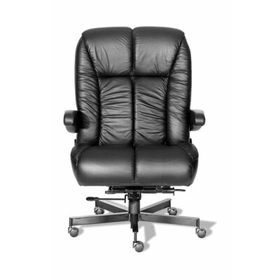 ERA Products Office Chairs Comfort Plus  Series Newport Ultra High-Back Leather Executive Chair