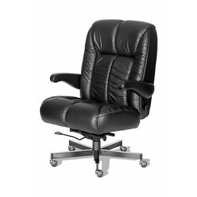 ERA Products Office Chairs Comfort Plus  Series Newport Ultra Leather/Leathermate Vinyl High-Back Executive Chair
