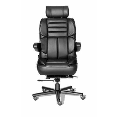 ERA Products Office Chairs Comfort Plus  Series Pacifica Leather High-Back Executive Chair