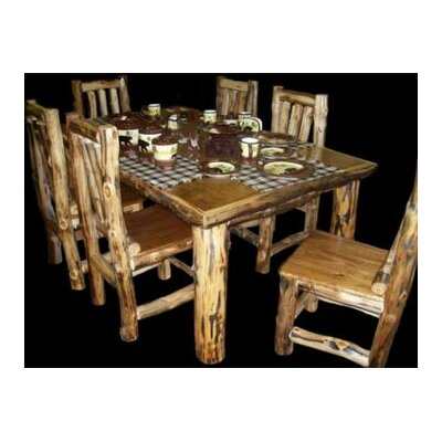 Utah Mountain Aspen Dining Table
