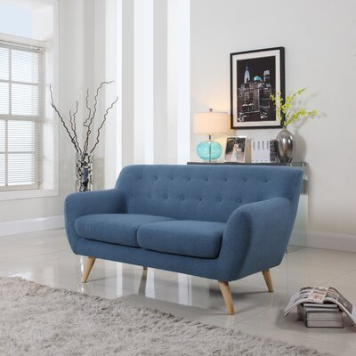 Madison Home USA Mid-Century Loveseat