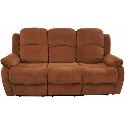 Madison Home USA Brush Reclining Sofa