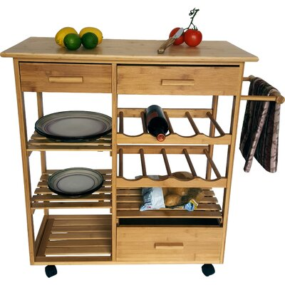 JA Marketing Serving Cart