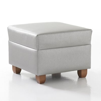 Studio Q Furniture Crosby Square Ottoman in Grade 3 Vinyl