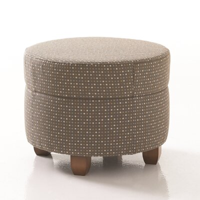 Studio Q Furniture Crosby Round Ottoman in Grade 3 Vinyl Image