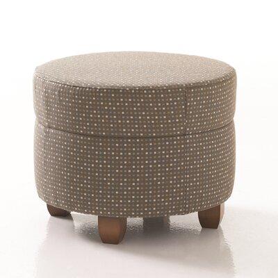 Studio Q Furniture Crosby Round Ottoman in Grade 3 Vinyl Image