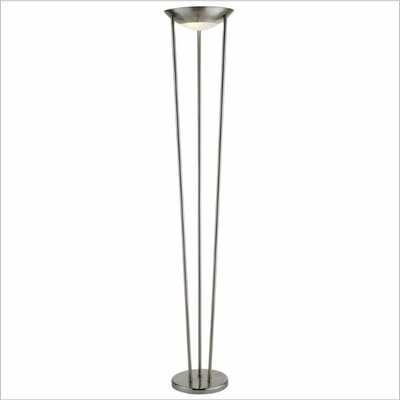 Adesso odyssey 71quot torchiere floor lamp reviews wayfair for Adesso remote control torchiere floor lamp