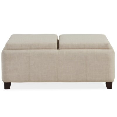 WorldWide HomeFurnishings Double Tray Ottoman